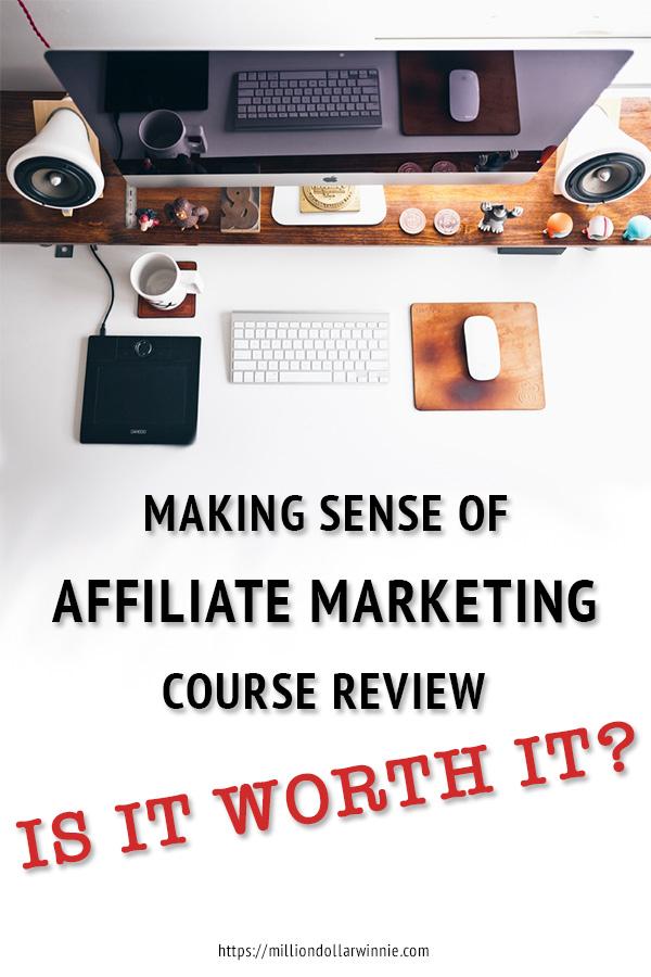 michelle schroeder gardner making sense of affiliate marketing review