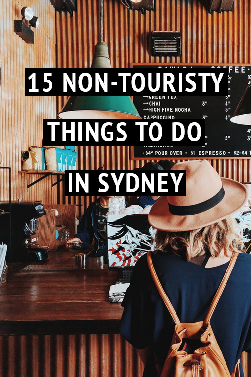 non touristy things to do in syndey