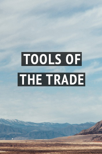 Tools of the trade resource page