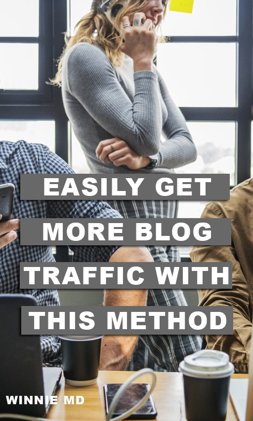 Once you've figured out how to put all the components together to build your blog, you come to the realization a blog is nothing when you have no traffic. Here is the easiest way to get traffic to a new site as a new blogger.