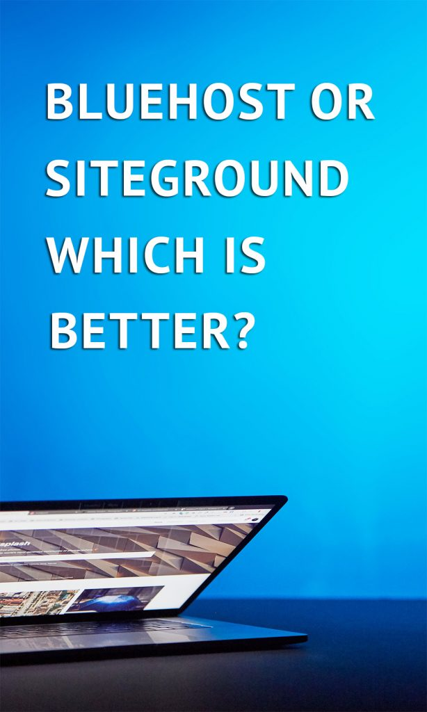 The most comprehensive guide to siteground and Bluehost you will find. If you need to make a decision then you should read this first.